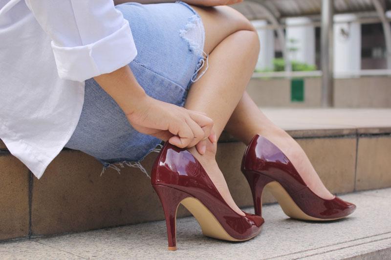 prevenire dolore e infiammazione ai piedi