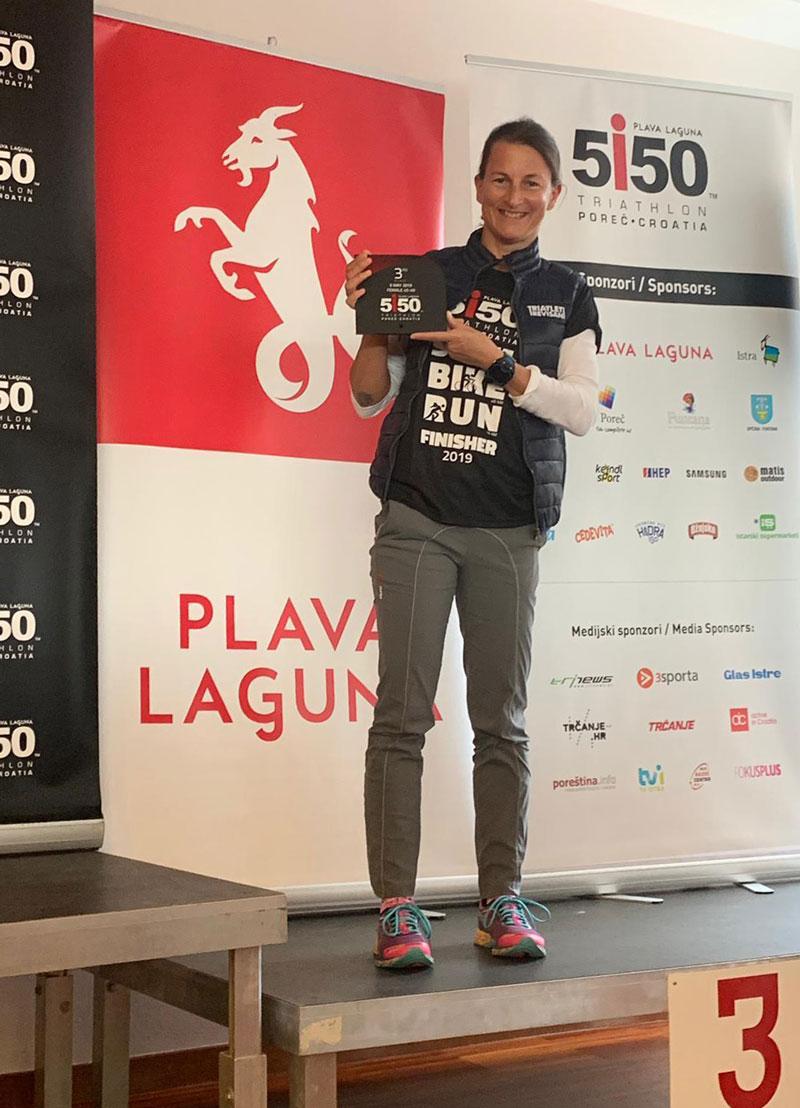 Monica Bortolotti, triatleta