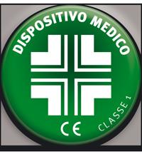L'azione terapeutica di questi capi ha riconoscimento come Dispositivo Medico CE.