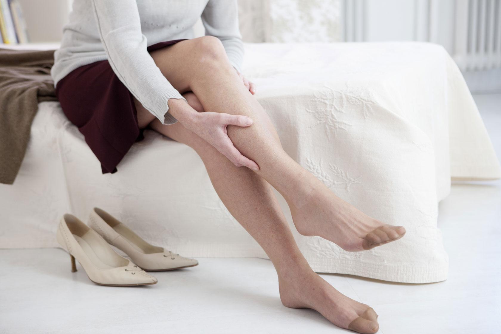 Gambe pesanti e piedi stanchi -