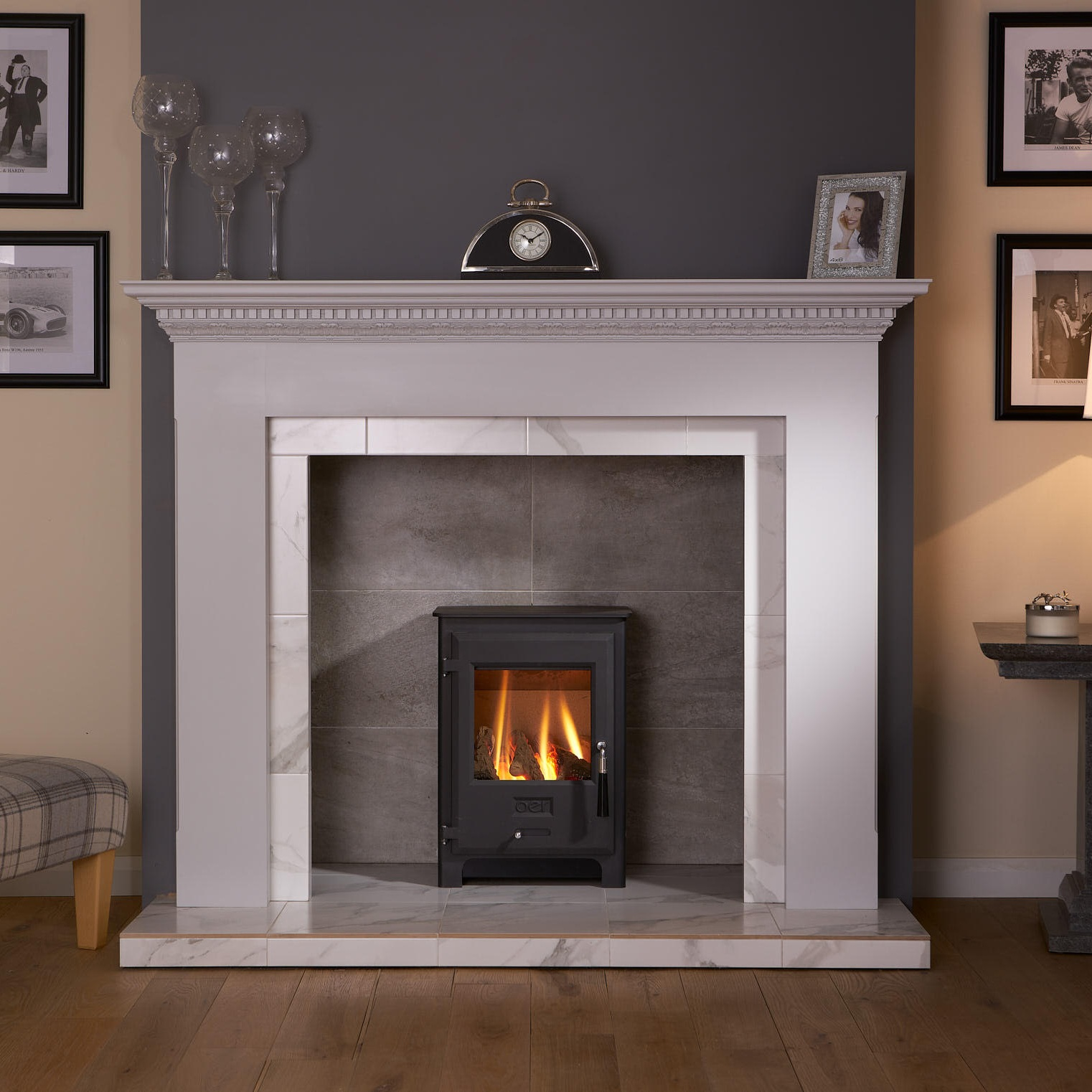 Surrounds - Get a beautiful surround to suit your stove and fireplace.