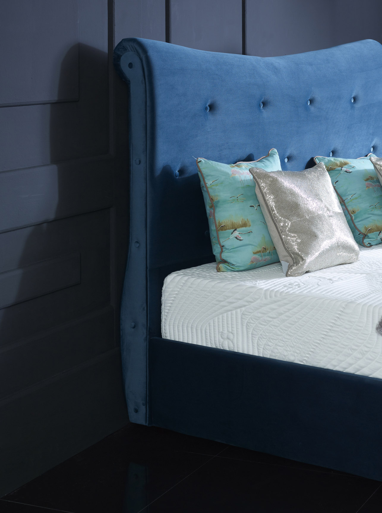Upholstered Bed Frames - Our Bed Collection offers a wide-range of designs that combine tradition, with an innovative twist, to help bring grandeur to your home. Redefining luxury with our clean, contemporary designs to complement your interior and bring dreams to reality.