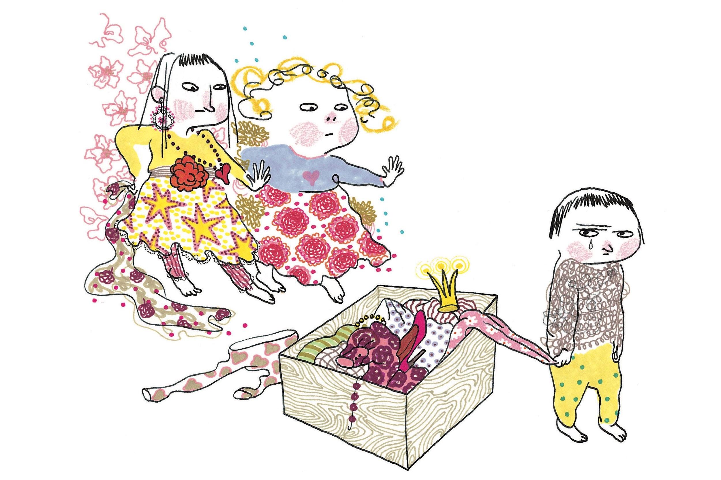 Leka tre - Efter en bok av Carin och Stina Wirsén