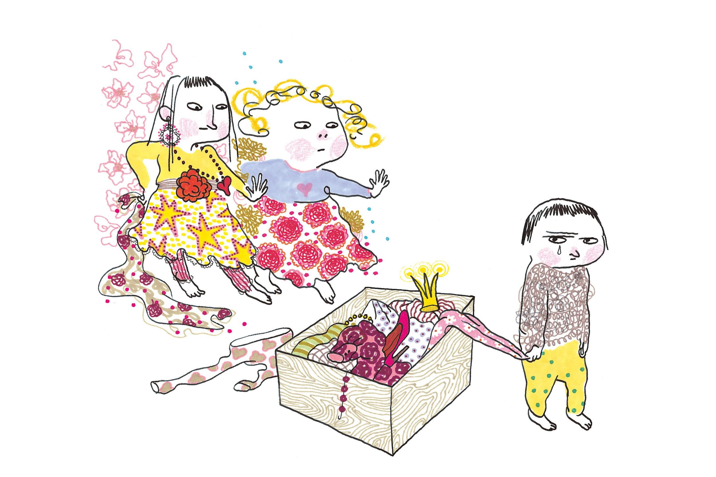 Leka tre - Efter en bok av Carin och Stina Wirsén. Mer info här
