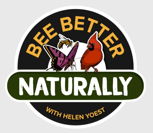 Bee Better Naturally Teaching Garden logo