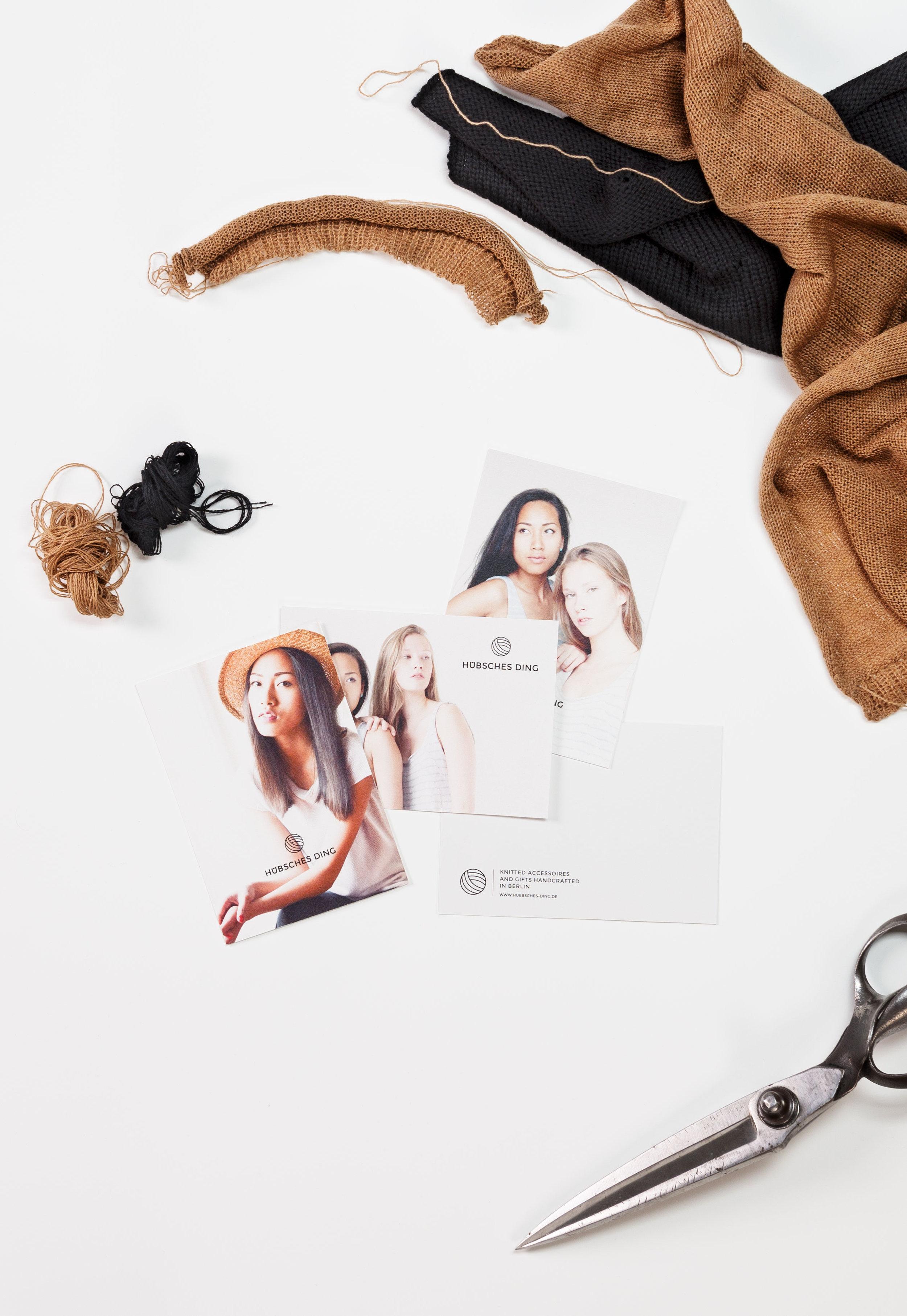 Lena Hanzel – Visual Identity – Hübsches Ding