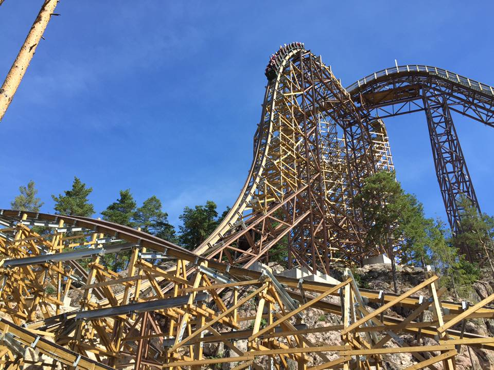 Wildfire's first drop