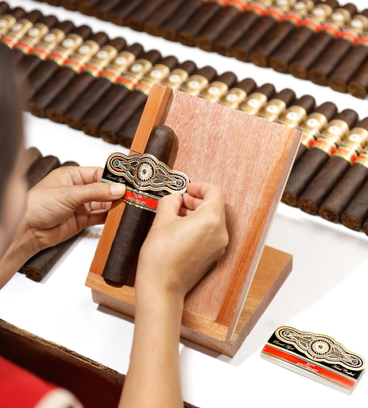 Banding Each Cigar