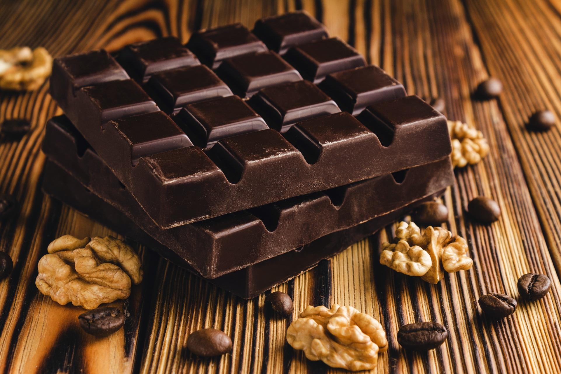 Finish - Hints of DarkChocolate & Coffee