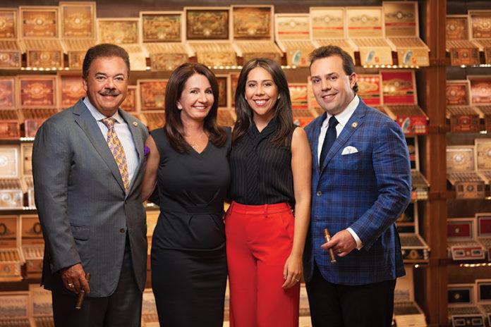 The Perdomo family: Nick Sr., Janine, Natalie and Nicholas III.