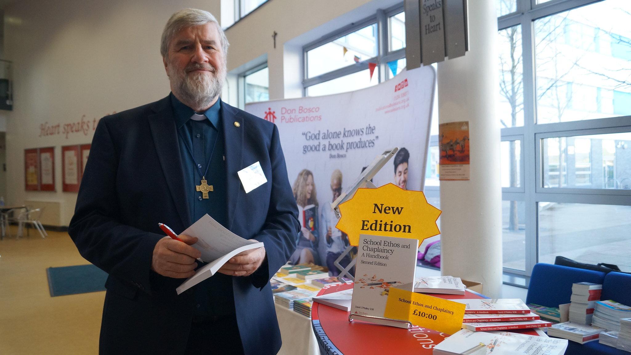 Fr David at 2019 Salesian Schools Conference, image: Salesian Link (Salesians GB)