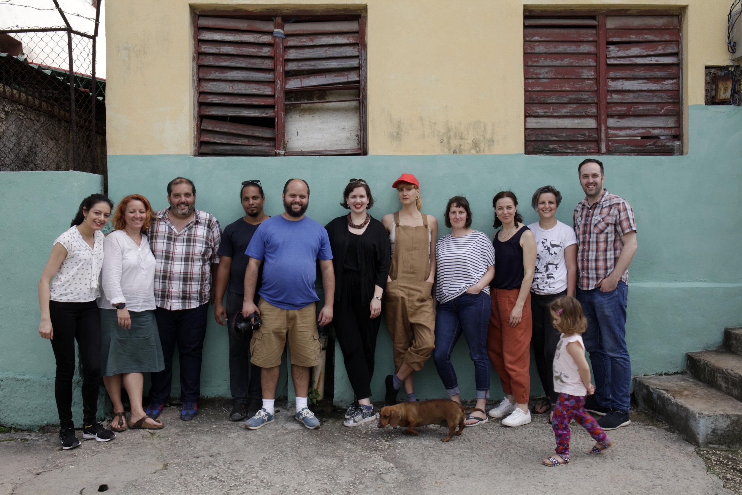 Picturing Climate network, Riera Studio, Havana, April 2019