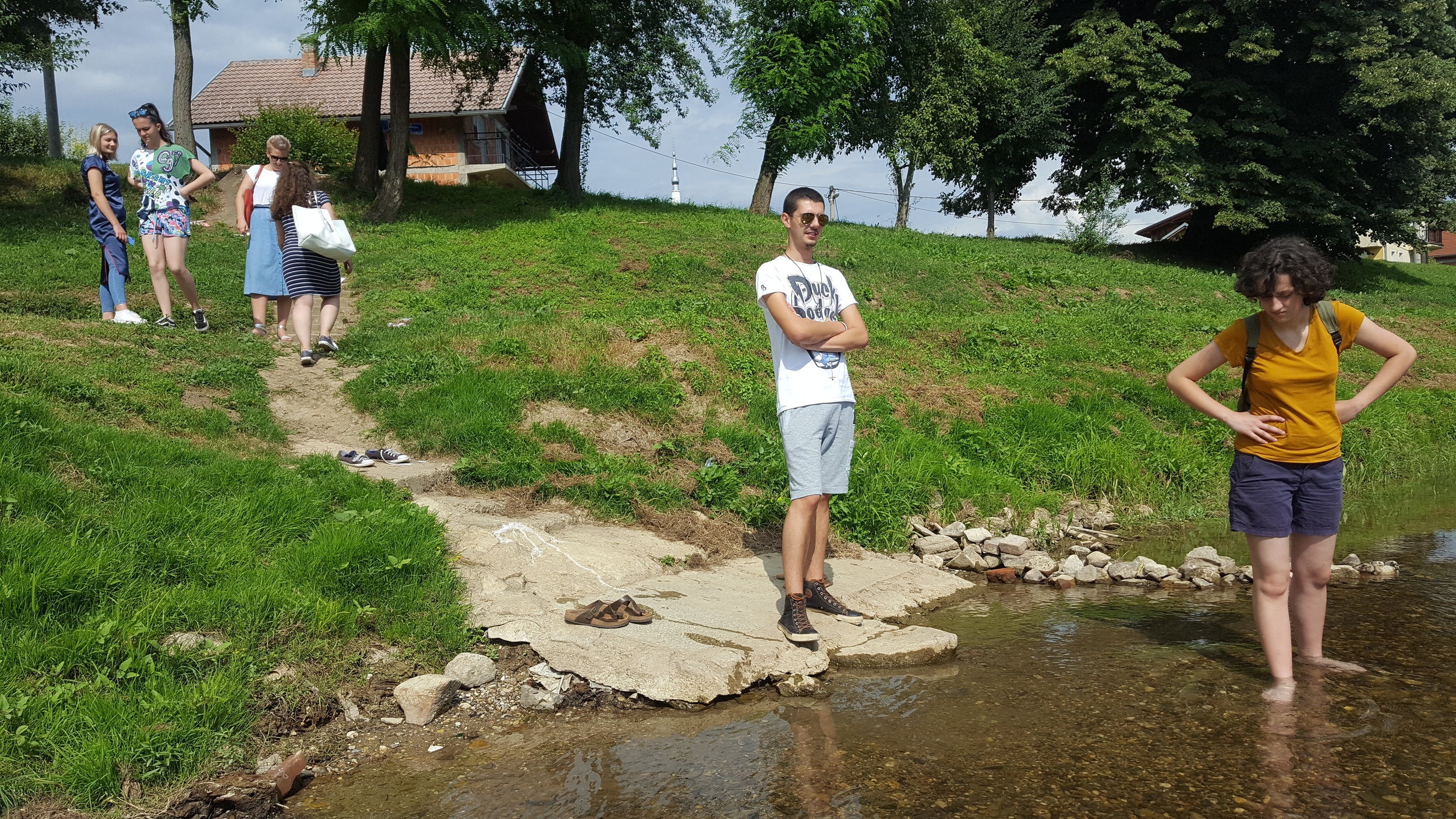At the river Sana. Photo: Maja Milatovic-Ovadia