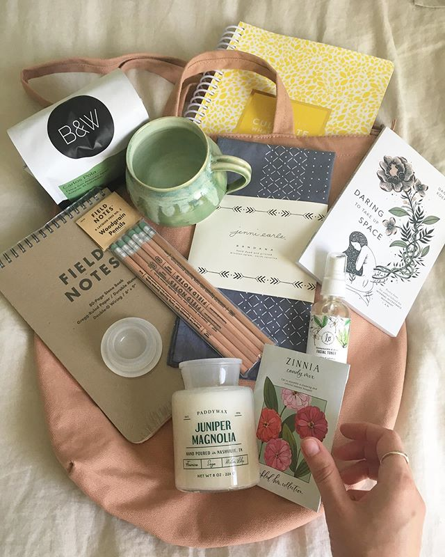 Hey y'all! It's a Launch Day GIVEAWAY!! These goodies were hand-picked by me from some of my favorite shops around Raleigh, & lemme tell ya, I'm PUMPED for whoever gets this!  There's a little something for the adventurer, the goal setter, the gardener/outdoors lover, the writer, the poet, & the homebody in you 💕 ✨ TO ENTER: • Like this post! • Head on over to samantharaywriting.com & comment on ANY post there!  Just be sure to leave your email! • (Extra entry) Share about the SRW Launch on your IG stories, & be sure to tag me! • (Extra entry) Tag a friend on this post or my last post! ✨ You'll have until Monday night July 8th at 11:30pm EST to enter!  A winner will be chosen on Tuesday July 9th! ✨ A full rundown of all the deets on these goodies is linked in my bio!  You'll also find links to my a Welcome Note from me, & a signup for my Kindreds Gazette, a petite monthly newsletter designed to infuse your day with a breath of fresh air, encouragement, & inspiration. 🌿 My giddy-kid-on-Christmas-morn-dance-party IG LIVE is up for another 24 hrs, & even though you couldn't pay me $1,000,000 to watch it again myself 😂😂 You should go dance with me as I share all about this new venture! 🌿 LOVE Y'ALL!  THANK YOU!!