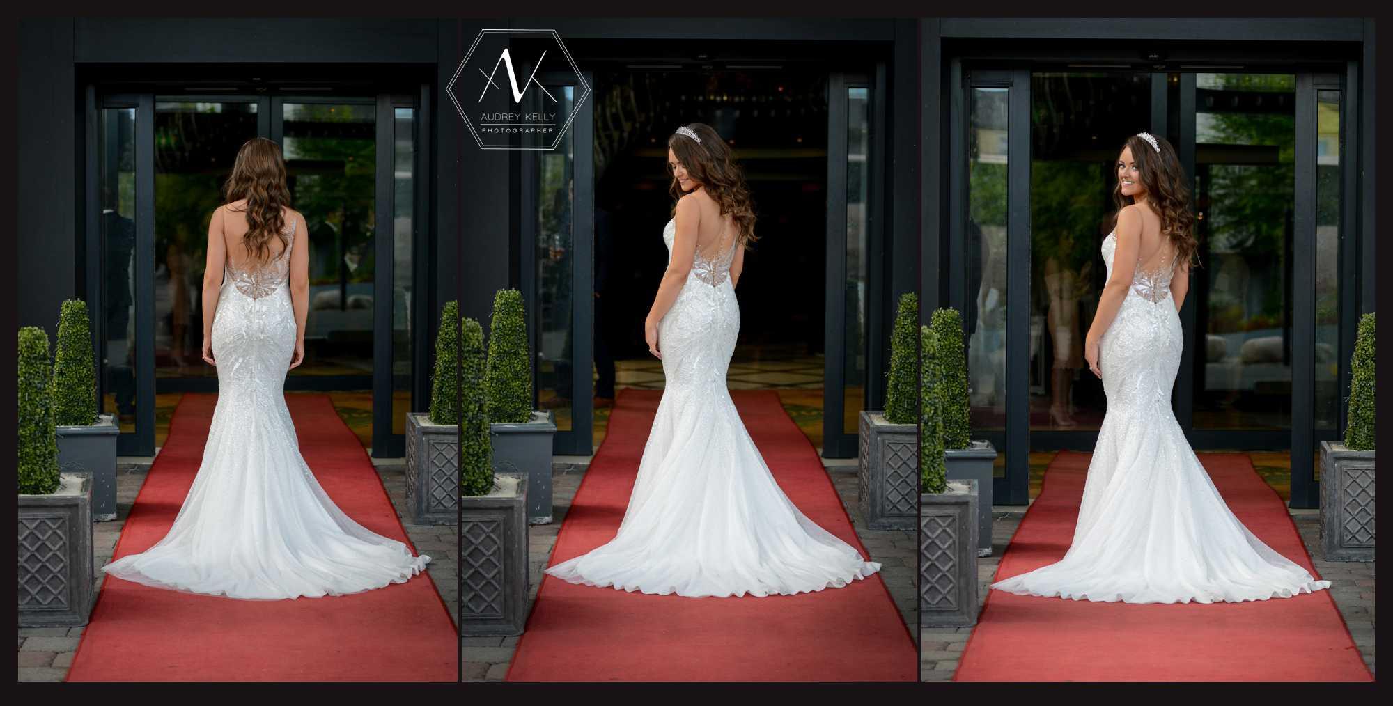 Capturing more of that stunning cararose bridal designer dress and the incredible detail.