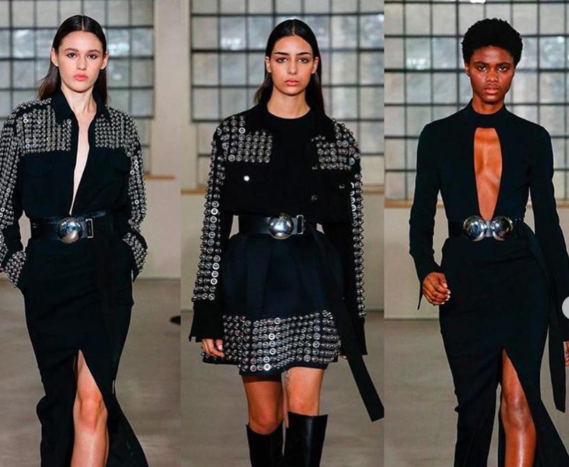 David Koma at London Fashion Week. Hair by Isobel for Vidal Sassoon