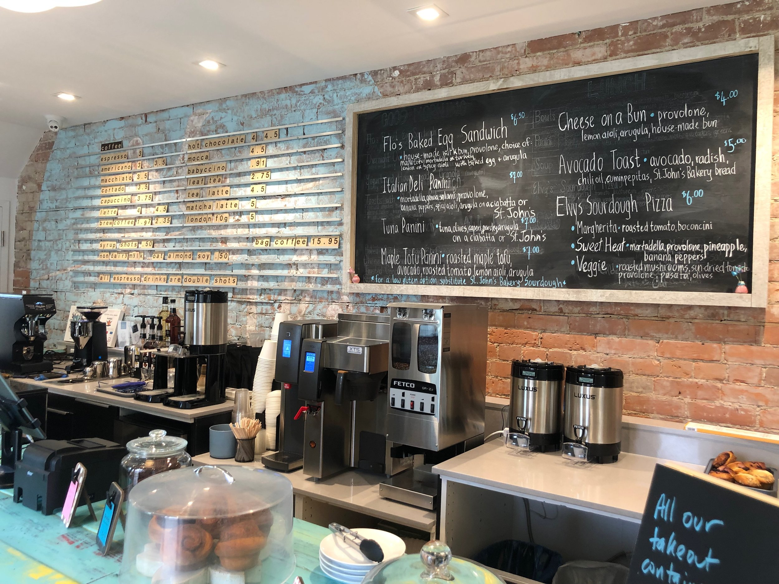 Many homemade and gluten free options are available at your newly opened cafe on Gerrard St East // FLEUR BOOMSMA