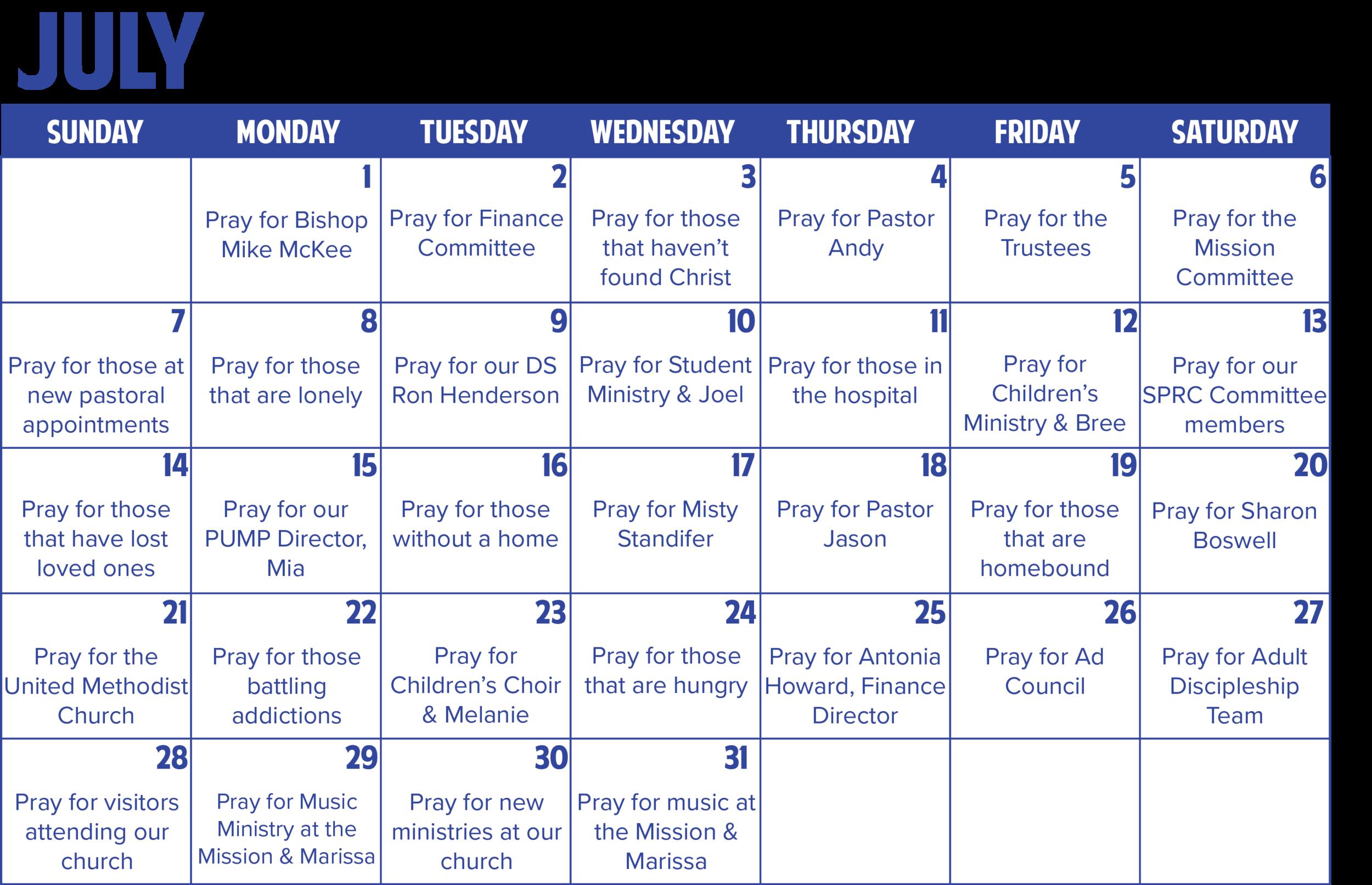 Prayer Calendar - July 2019.png