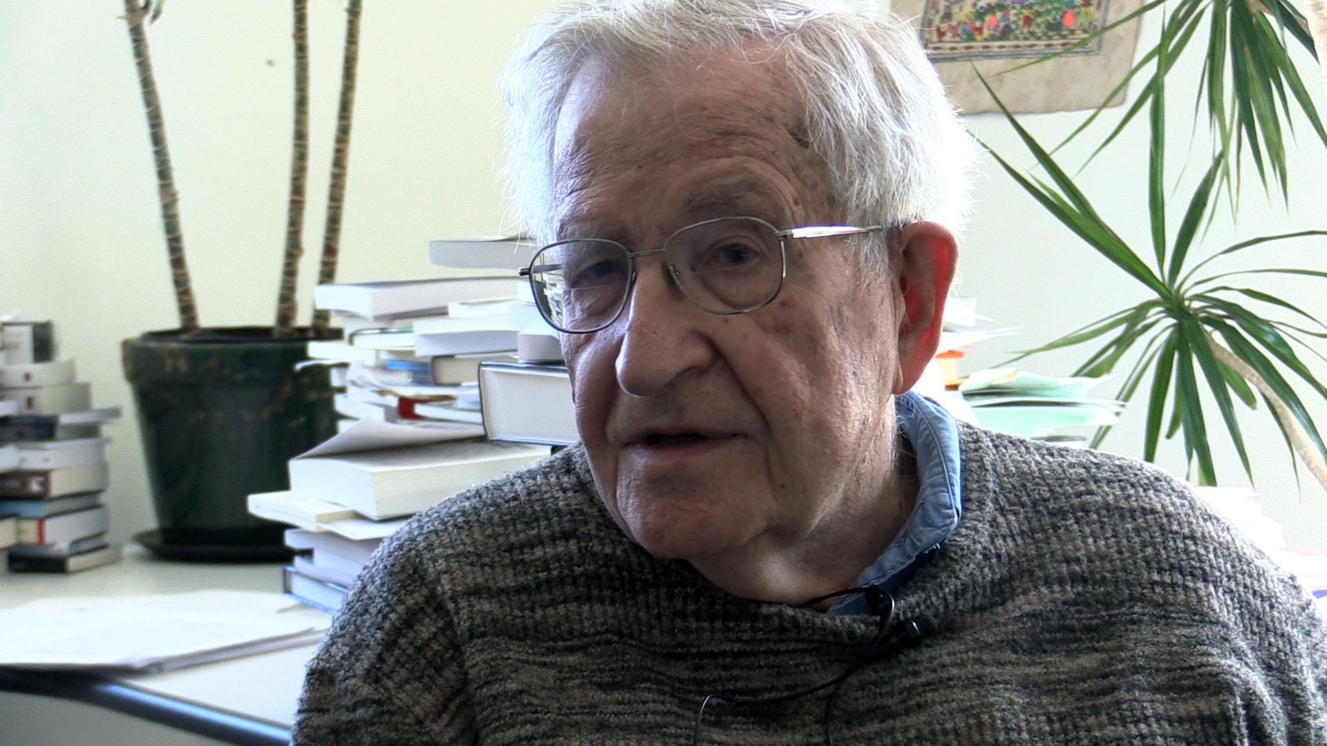 Dr. Noam Chomsky, MIT Professor Emeritus, Author, Activist, Linguist, and Eminent Scholar  Photo: @ 2019 Stephen Newton