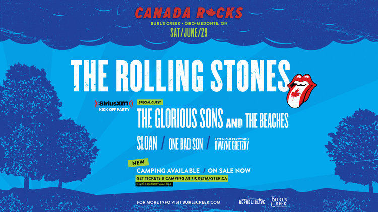 Siriusxm Christmas 2019.Canada Rocks With The Rolling Stones Burl S Creek Event
