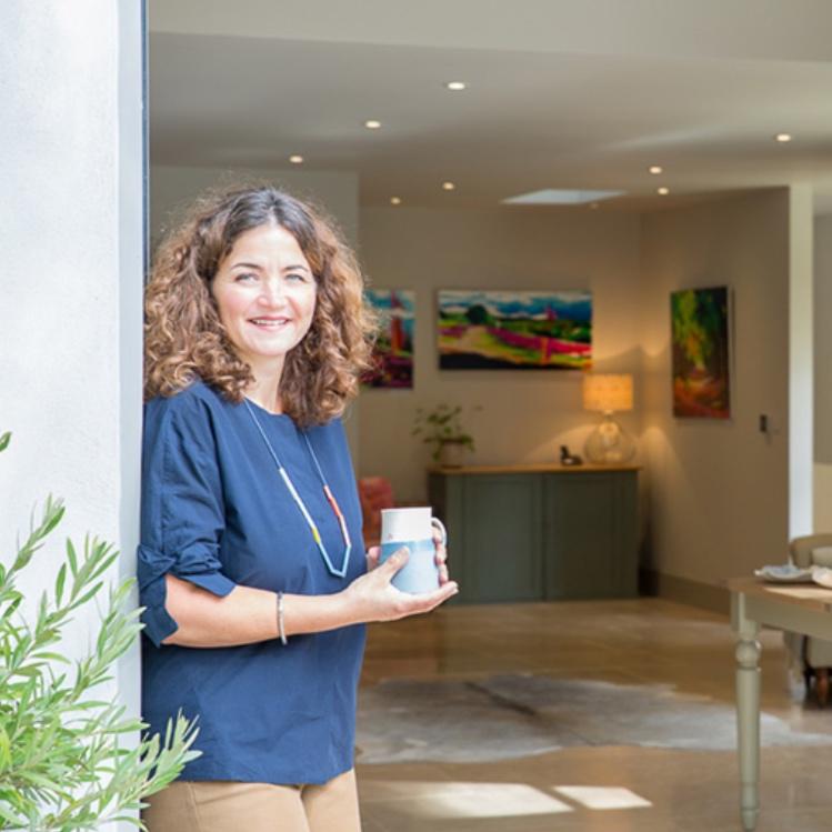 Nina Jex at home