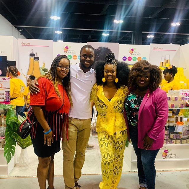 I will never forget, about 10 years ago we traveled together for @alikaynaturals first hair show. @blackonyx77 and @ezdemond was just starting the brand and asked @southern_vegan_soul_cafe and I to help with the expo. . . I remember we stayed up all night sharing our business dreams and saying one day we'll be calling each other to meet up in a different city to do business together... . . Well, this pass weekend we did just that!! . . Never under estimate the power of your words and your circle of friends! I can proudly say my friends are rockstars and we're living out our dreams by the grace of God! . . . #mogulmoves #bestlife #moneymoves #nextlevel #alikaynaturals #southernvegan #liveandshare #atl #wnhs