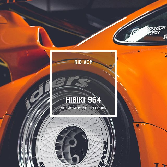 NEW PRESET ALERT 🚨 ----- Introducing Hibiki 964 😍 Our 9th and preset available in the Automotive Collection. Go check it out, link in the bio! #R18ACM --- ✖️ Swipe 👈 to see some more! ✖️ @porsche | @porsche_gb ✖️ @R18ACM Presets ---