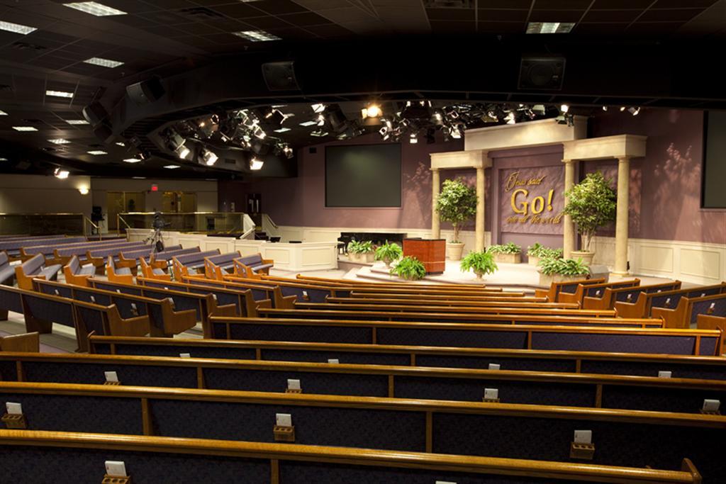 Faith Miracle Temple, newly designed sanctuary, seats 2,800, St. Louis
