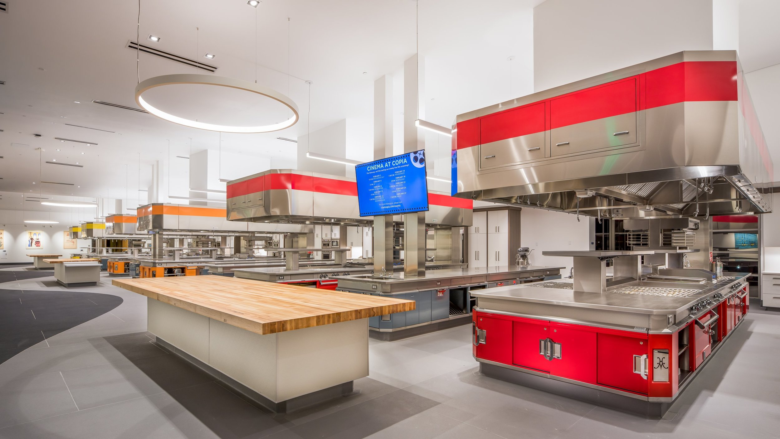 Hands-on kitchen workshops will be held in Copia's new Hestan Kitchen