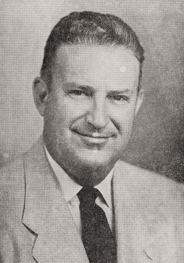 """Ray Shukraft of San Diego Firefighters Local 145 served as president of Federated Fire Fighters from 1953-1956. In 1959, he was appointed by Gov. Edmund G. """"Pat"""" Brown as state fire marshal."""