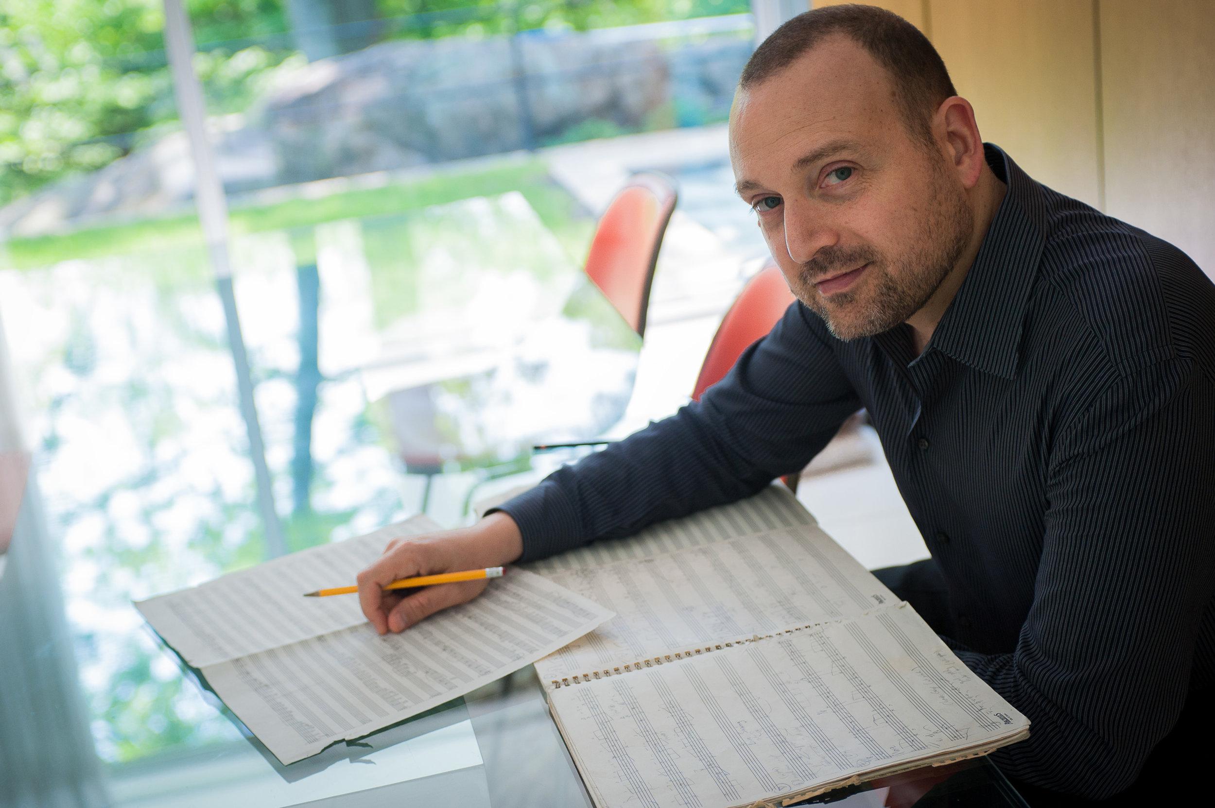 Composer Derek Bermel.