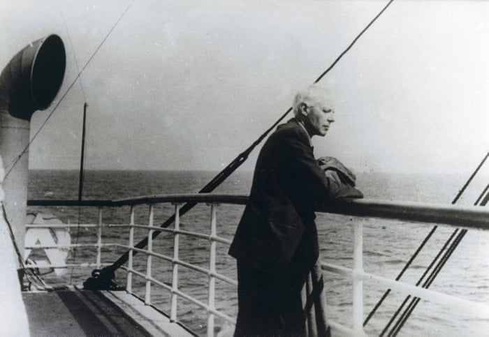 'Homesickness never left him': Béla Bartók on his way to the United States, October 1940. Photograph: De Agostini/ Getty Images