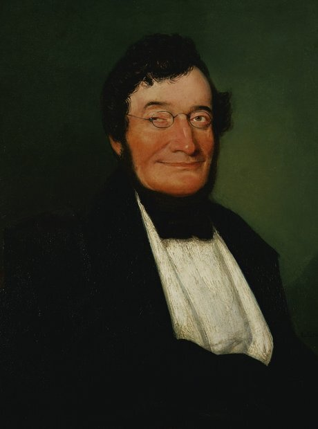 A portrait of Johann Nikolaus van Beethoven.