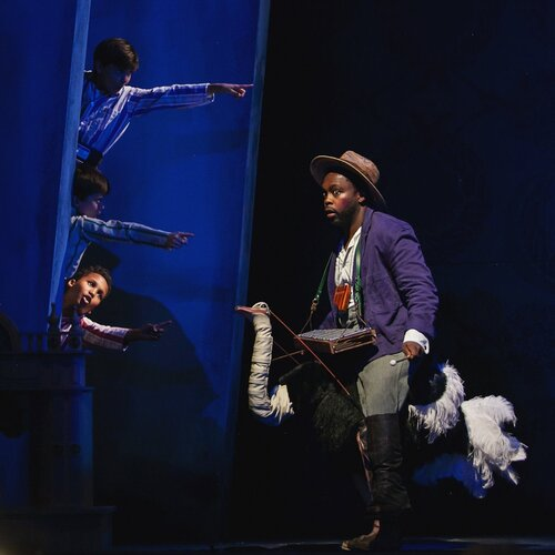 Will Liverman on stage with Central City Opera in <p> The Magic Flute . (Photo: Amanda Tipton)