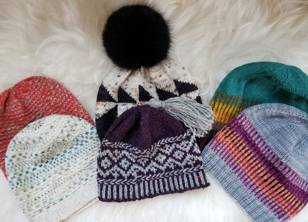 We have a little more intricate hat samples