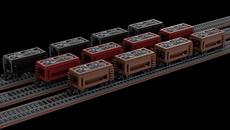 1:48 Scale 22' Ore Hopper DM&IR — Brick Train Depot