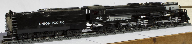 1:48 Scale Union Pacific 4-8-8-4 Big Boy Locomotive — Brick Train Depot