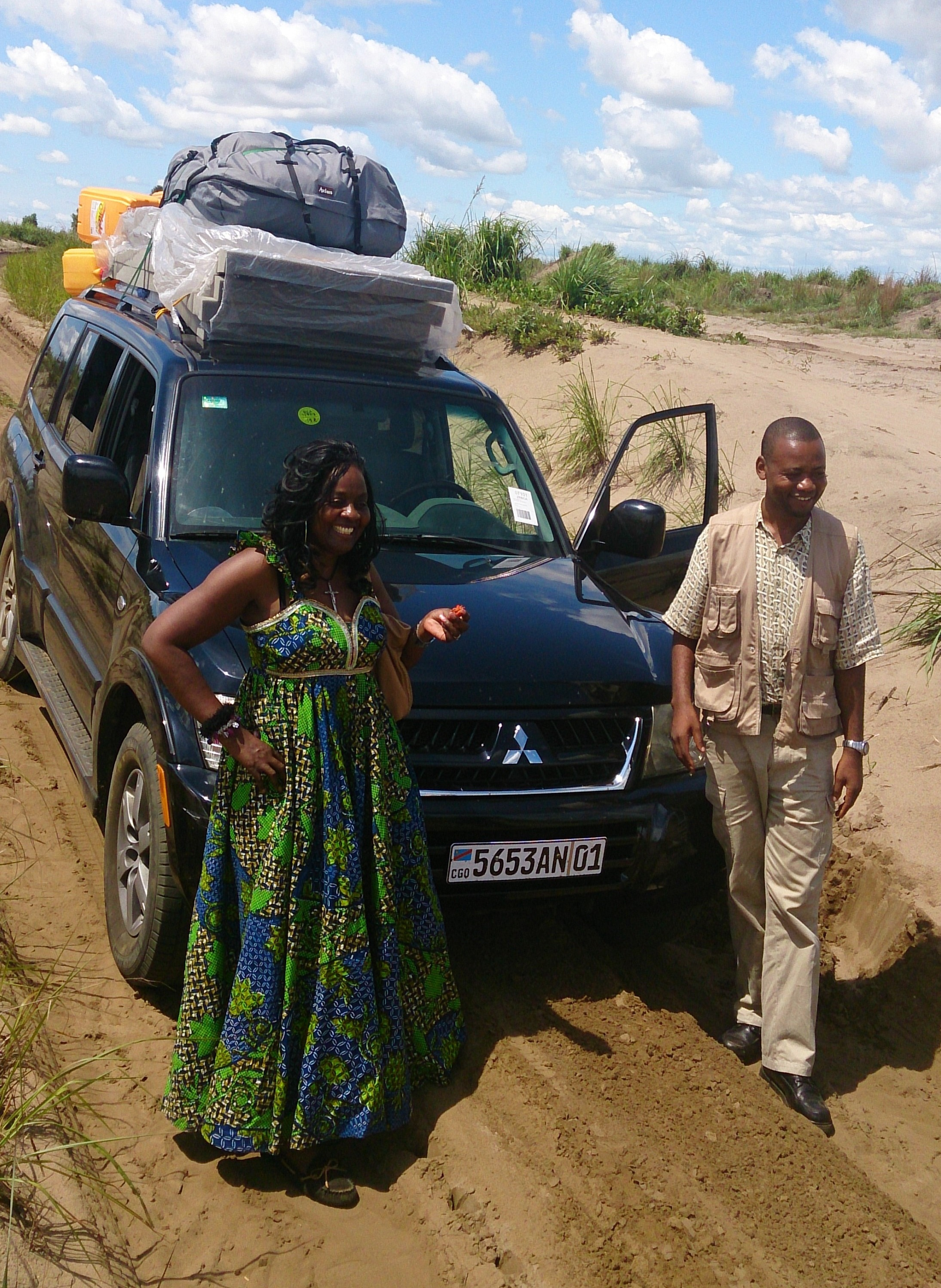 Kinshasa-Kandale-13 hrs (4x4 Vehicle with overnight in Kikwit)