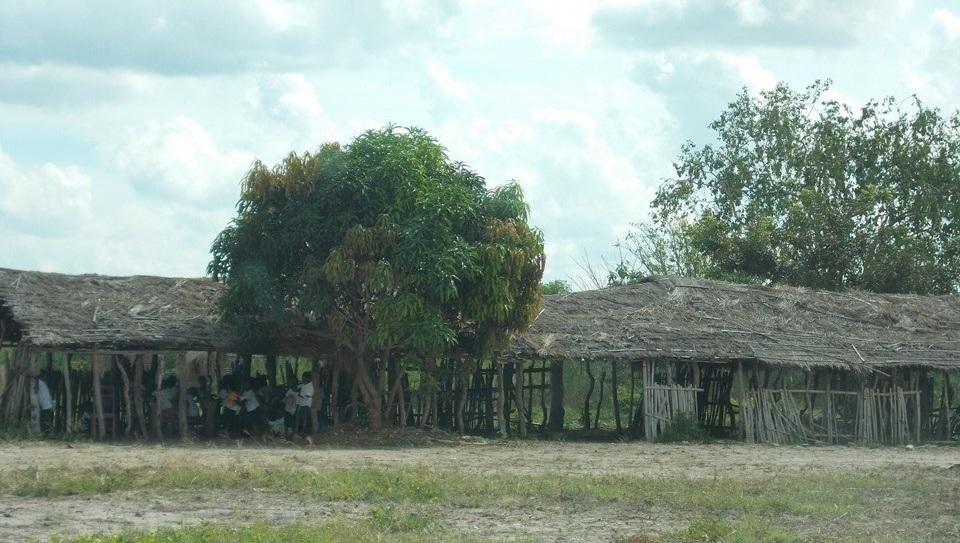 Muwangi Village Kandale Primary School - 132 Students (67 girls, 65 boys)6 Classes and 7 Staff (2 Women)