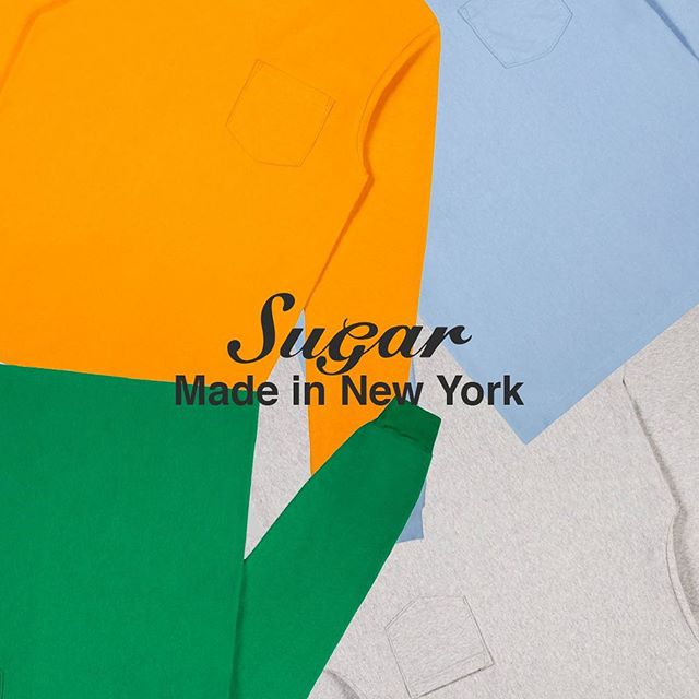 The New York Standard #Sugar is now exclusively made in New York; from the garments to the prints and embroideries we love. More product announcements soon. 🍬
