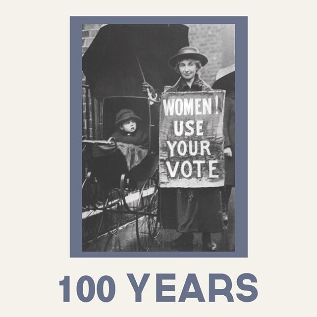 """🗳 🗳 🗳  100 years ago this week, Congress passed the 19th Amendment, giving women the right to vote.  It reads: """"The right of citizens of the United States to vote shall not be denied or abridged by the United States or by any State on account of sex. Congress shall have power to enforce this article by appropriate legislation.""""• It took another year to get it ratified by the states (August 18, 1920) and included in the Constitution. •  History: Originally only white men were allowed to vote in the US.  The US women's suffrage (vote) movement really kicked off in 1848 at a two-day convention in Seneca Falls, New York, where 68 women and 32 man laid out resolutions calling for equal treatment of women and men. A document called the Declaration of Sentiments says, in part: """"We hold these truths to be self-evident: that all men and women are created equal…"""" •  In 1868 Congress passed the 14th amendment which, in defining the rights of freed slaves, used the word """"male"""" to define a citizen. In 1869 the 15th Amendment made it illegal to discriminate on the basis of """"race, color, or previous condition of servitude."""" That excluded women. In fact there was ongoing tension between abolitionist and suffrage movements - over cooperation/ lack of cooperation in the fight for expanded rights for freed slaves and white women. Note: To this day men and women of color still have challenges exercising their right to vote,  and it tends to be worse in US states that once practiced slavery.• World War 1 really changed things. Women were mobilized to work in factories and support US forces. In 1918 President Woodrow Wilson, who wasn't always a champion of women's suffrage, told the Senate """"We have made partners of the women in this war; shall we admit them only to a partnership of suffering and sacrifice and toil and not to a partnership of privilege and right?"""" Congress approved the 19th amendment within a year. •  Are women voting today? U.S. Census: in 2016, 66% of women were registe"""