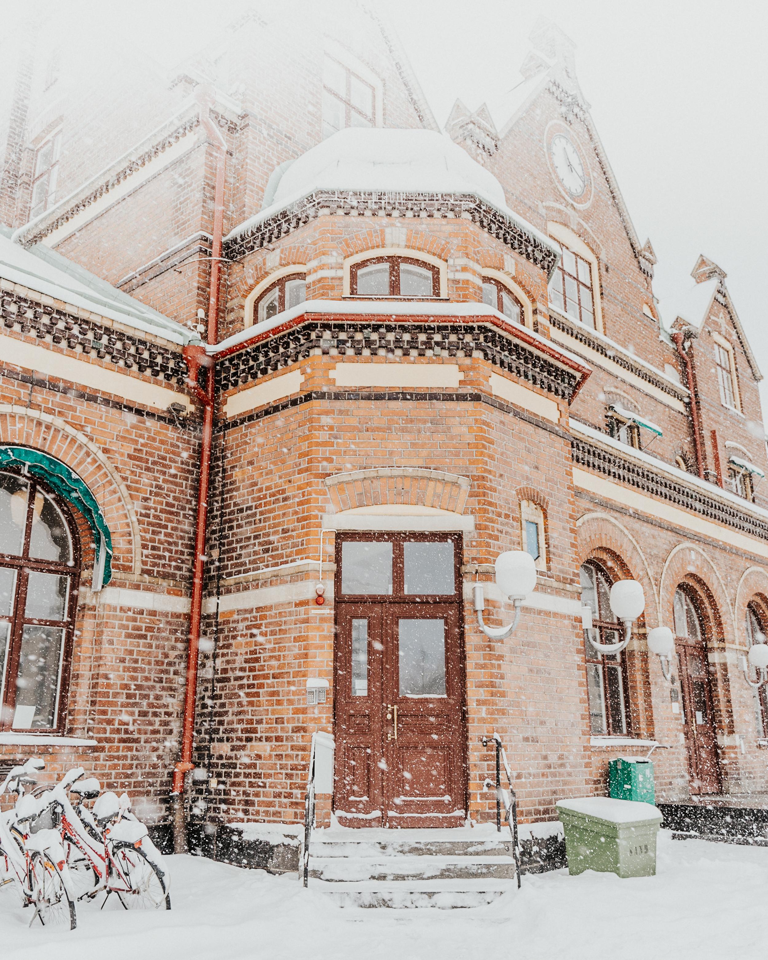 Umeå stationshus, uppfört år 1896.
