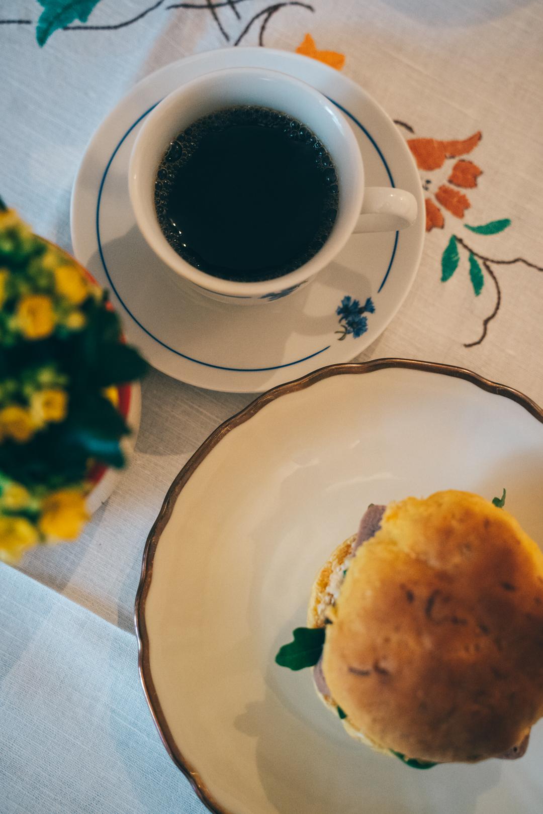 kaffe och macka