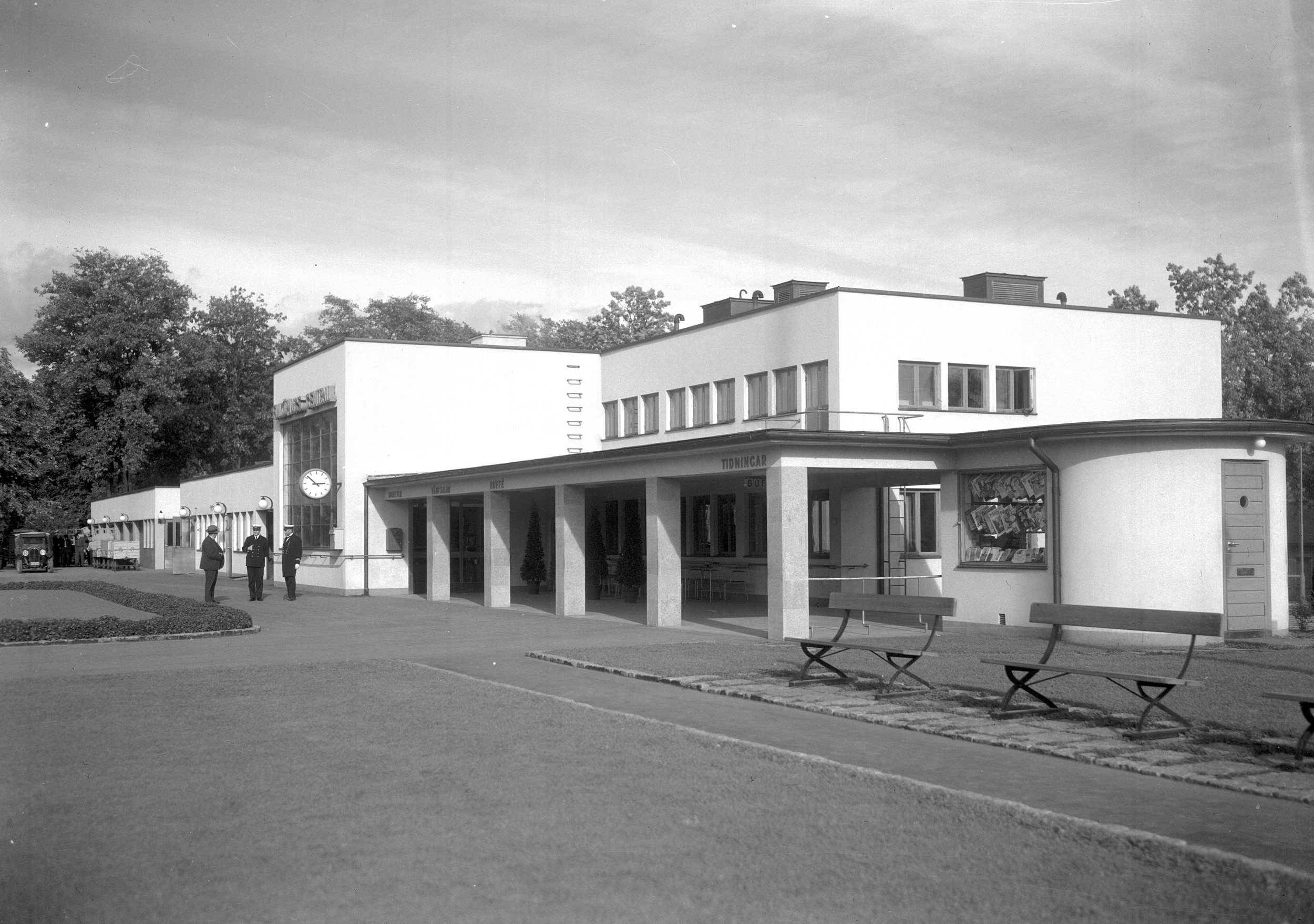 Fotograf: Okänd, Arkivbild Järnvägsmuseet.