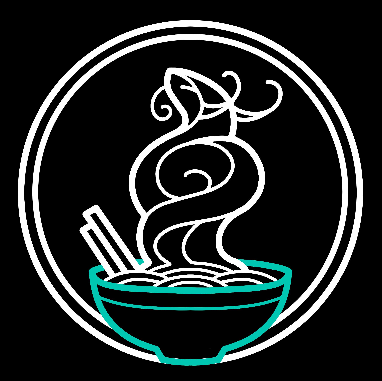 Udon Shop Logo Black Textless