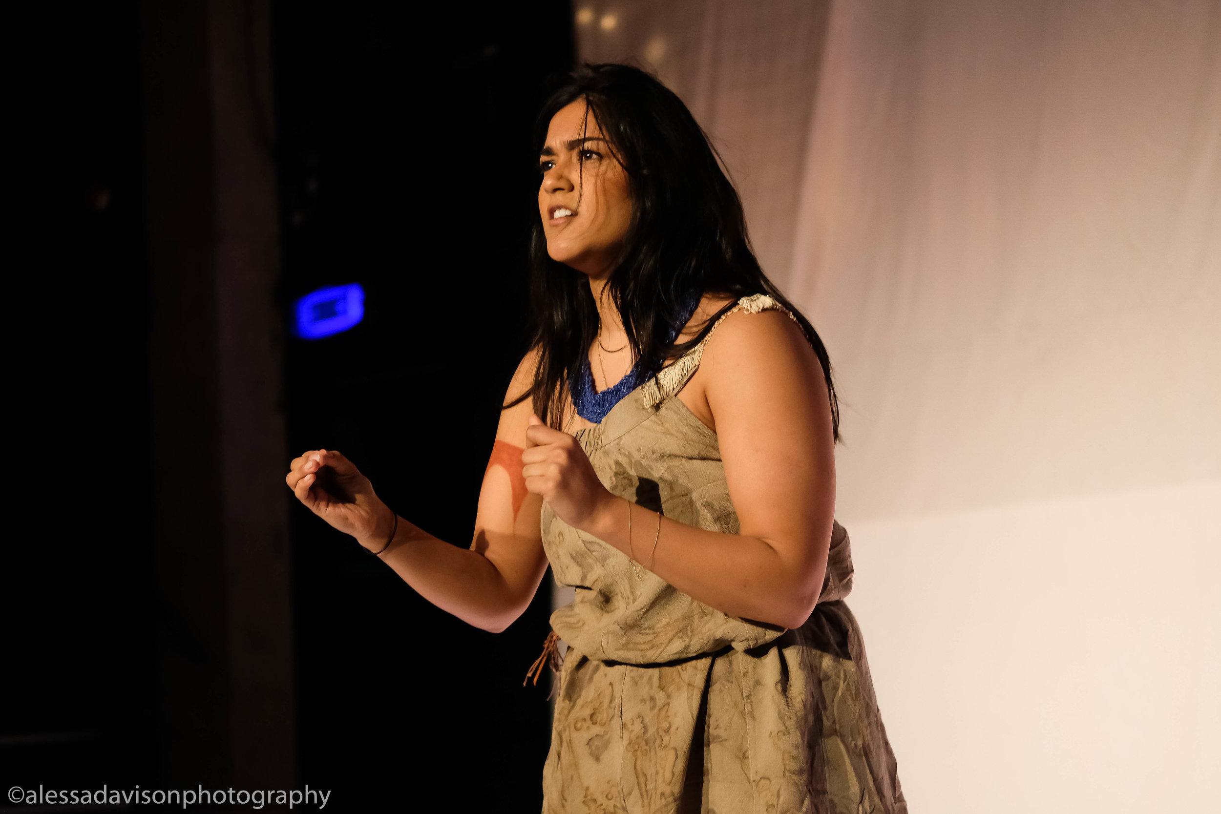 Kavita Vyas as Pocahontas