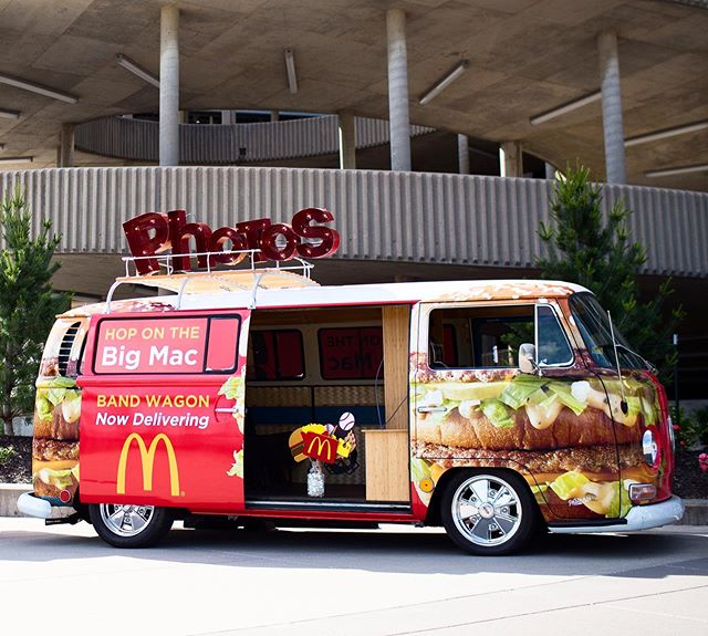 The Big Mac Wagon! Our team in Kansas City has teamed up with @mcdonalds and @ubereats for the next few weeks, if you're in KC keep an eye out for this bus! • • #theoriginalphotobus #theoriginalvwbusphotobooth #thephotobus #thephotobuskc #thephotobuscompany  #kcmo #kansascityphotobooth #thebestphotoboothever  #thephotobuskc #theoriginalvwphotobooth #photobooth #vwphotobooth #mobilephotobooth #kansascityphotobooth #kcphotobooth #thephotobus #bestphotoboothever #photobus #photoboothbus #kc  #vwbusbusiness #mcdelivery #ubereatspromocode #ubereats #mcdonalds #bigmac #bigmacbus #bigmacwagon #thebigmacwagon #nocobooths #experientialmarketing