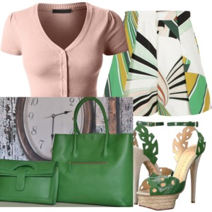 #green is the perfect transitional color.