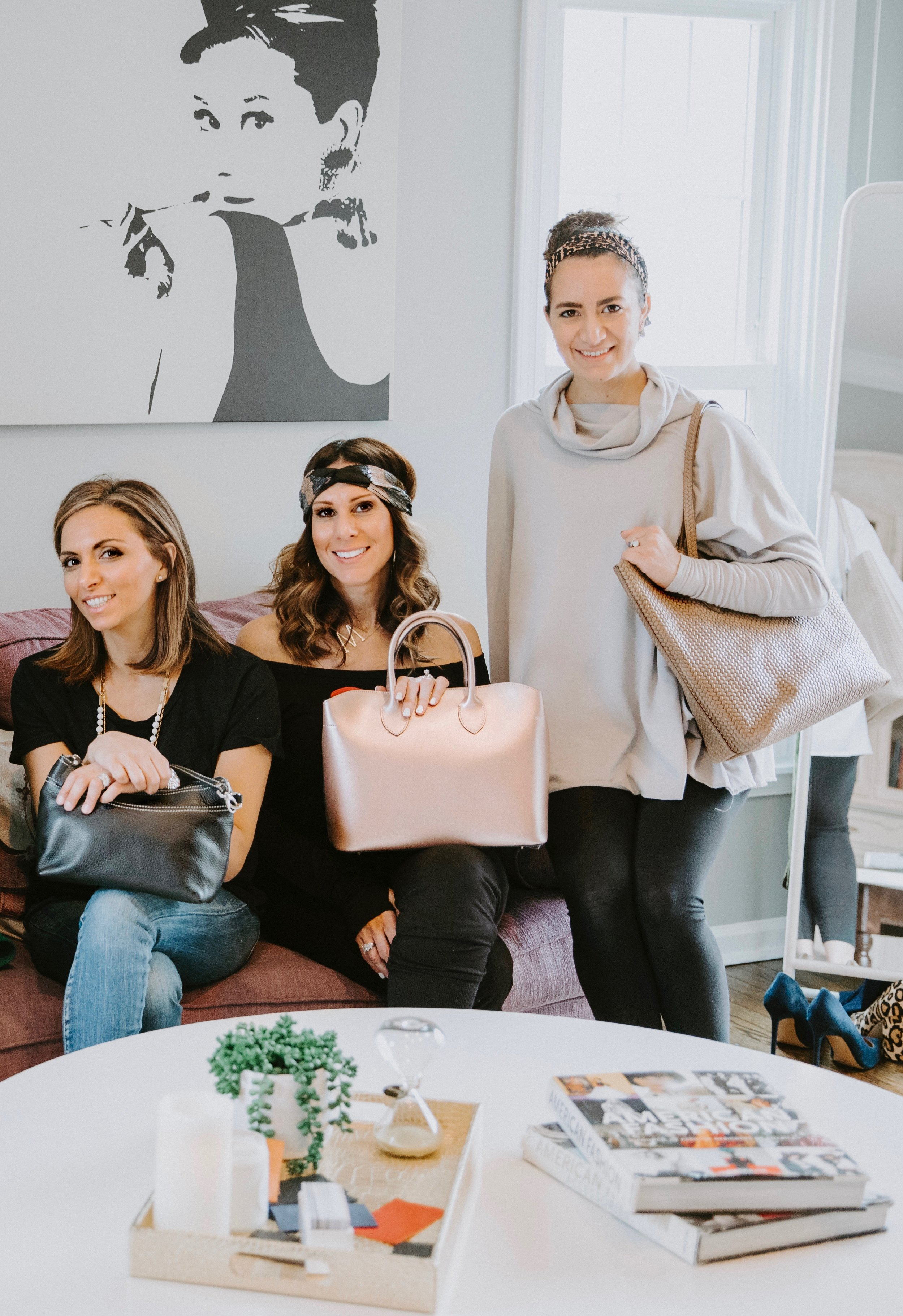 WHO WE ARE - We are a team of ambitious women. We are designers, bloggers, mothers, students, merchandisers. We work together to help each other succeed as a fashion company looking to give the mothers, young professionals, fashion lovers, and the all around multi-tasking ambitious woman a product she can trust.