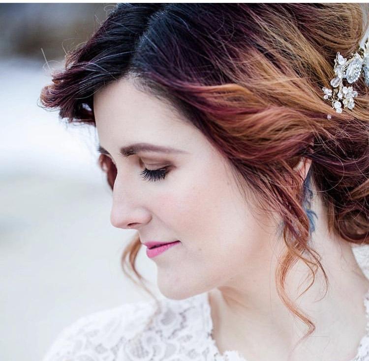 Hair and make up by April Joy